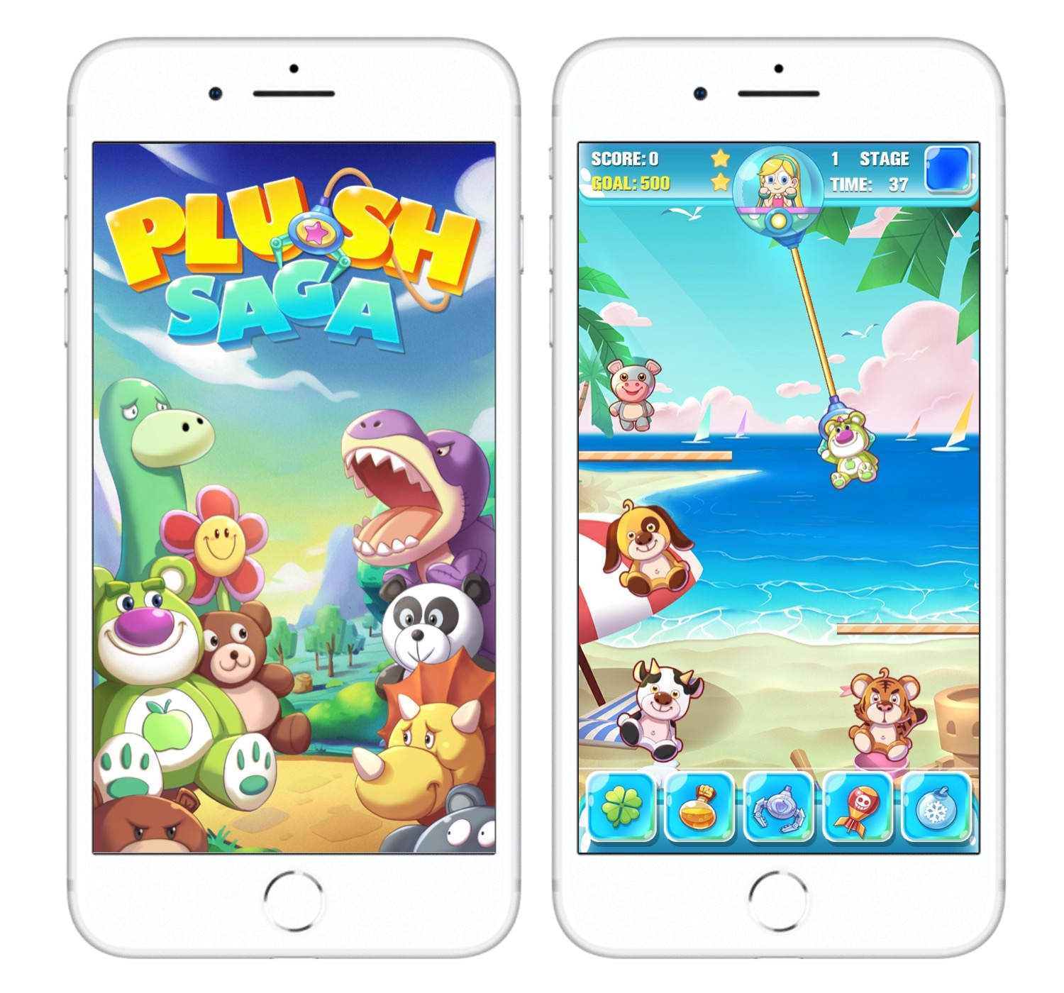 Millefeuille Agency - App Plush Saga