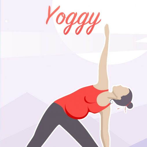 Millefeuille Agency - Yoggy App iPhone - Yoga for a healthy pregnancy